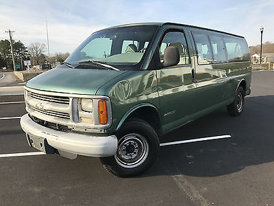 1999 Chevrolet Express Base Extended Passenger Van 3-Door 1999 Chevrolet Express 3500 XL Extended Passenger Van 5.7L 15 Pass. LOW RESERVE