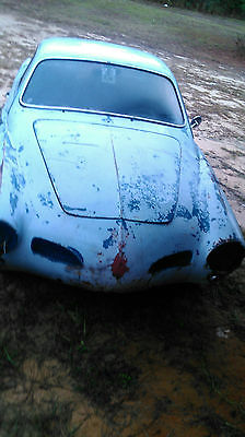 1963 Volkswagen Karmann Ghia 1963 Volkswagen Karmann Ghia parts or restore