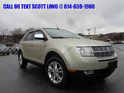 2010 Lincoln MKX 2010 Lincoln MKX AWD Heated Cooled Leather 2010 Lincoln MKX Ultimate AWD Heated Cooled Leather Seats Panoramic Moonroof 4x4