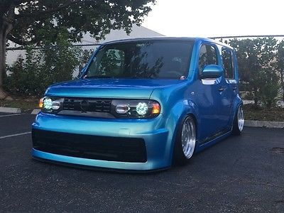 2013 Nissan Cube 2013 Nissan Cube air suspension, flip flop wrap, custom interior