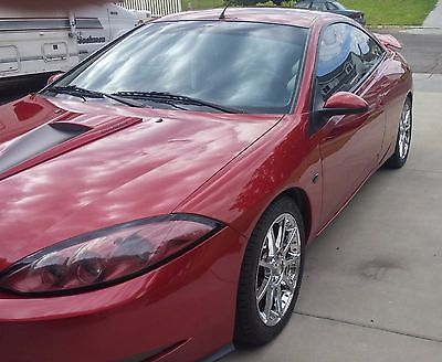 2000 Mercury Cougar special edition automobile