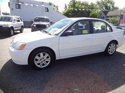 2003 Honda Civic  2003 honda civic EX, White, 110K, Great Condition, Clean Title