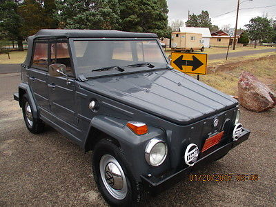 1973 Volkswagen Thing 1973 VW Thing, restored 800 miles ago, bug, bus, rust free