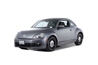 2012 Volkswagen Beetle-New 2.5L 2012 Volkswagen Beetle 2.5L 41602 Miles Gray 2D Hatchback 2.5L 170 hp 6-Speed Au