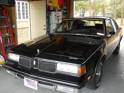 1987 Other Makes Cutlass Supreme  87 olds cutlass supreme