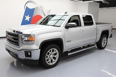 2015 GMC Sierra 1500 SLT Crew Cab Pickup 4-Door 2015 GMC SIERRA TEXAS CREW SLT HTD LEATHER NAV 20'S 33K #477004 Texas Direct