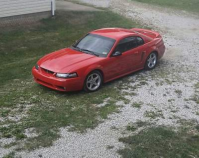 1999 Ford Mustang SVT Cobra Coupe 2-Door 1999 Ford Mustang SVT Cobra Coupe 2-Door 4.6L