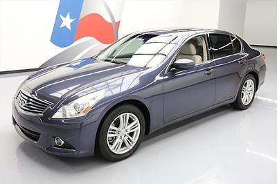 2012 Infiniti G37  2012 INFINITI G37 JOURNEY HTD SEATS SUNROOF NAV 66K MI #626415 Texas Direct Auto