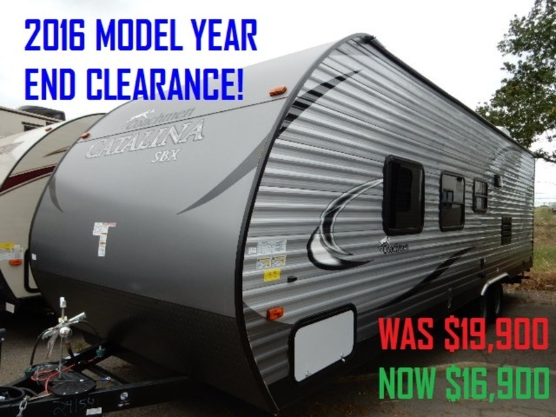 2016 Coachmen Catalina SBX 261BH