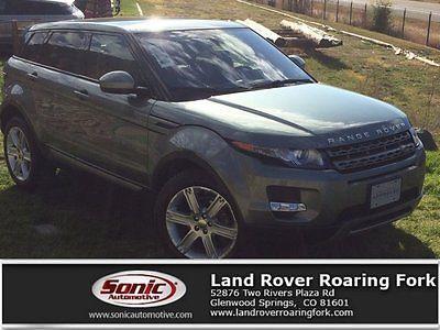 2015 Land Rover Range Rover Pure Plus 2015 Land Rover Range Rover Evoque Pure Plus 31416 Miles Scotia Gray Metallic Sp