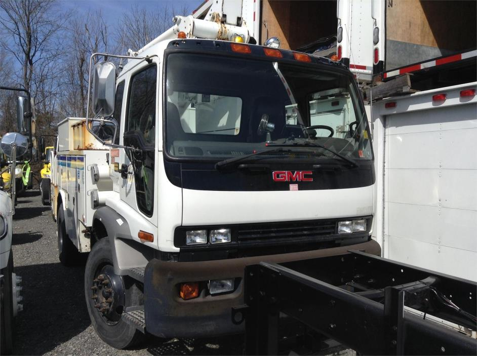 2006 Gmc T7500 Bucket Truck - Boom Truck