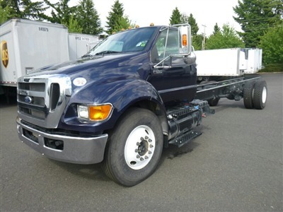 2015 Ford F650 Cab Chassis