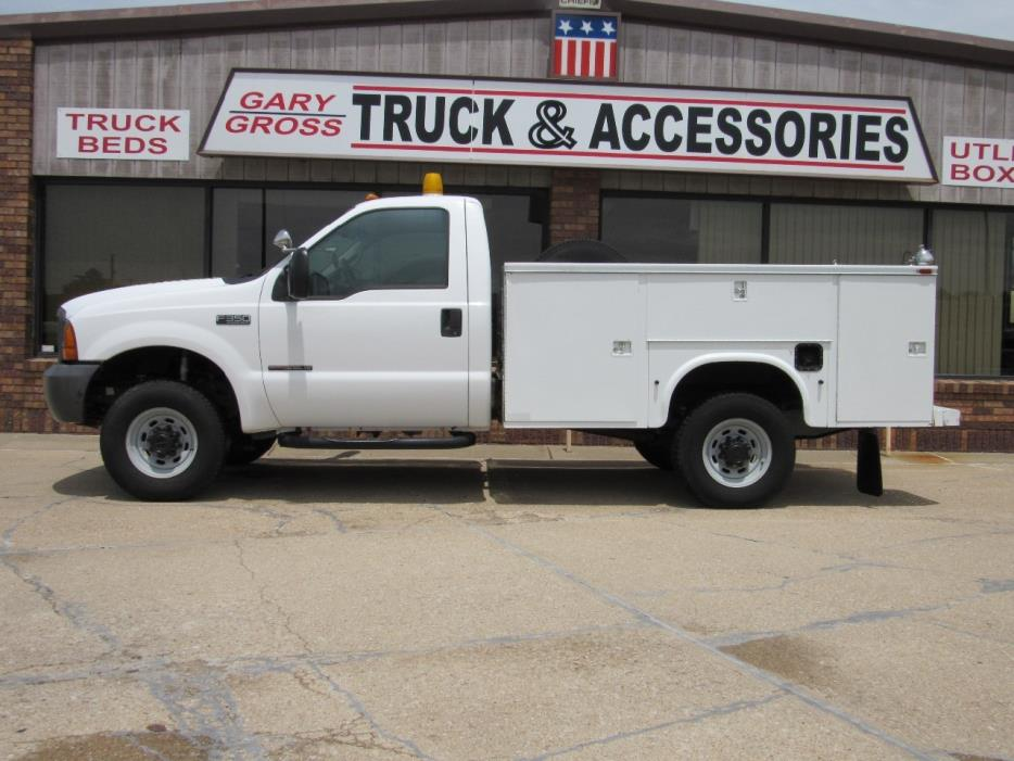 2000 Ford F350 Contractor Truck