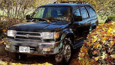 2000 Toyota 4Runner sr5 2000 toyota 4runner sr5