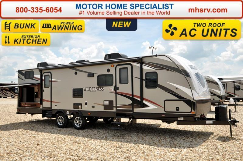 2017 Heartland Wilderness 3150DS Bunk Model RV for Sale