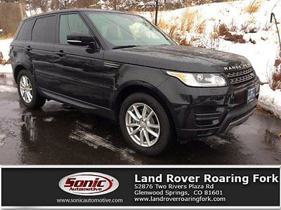 2015 Land Rover Range Rover Sport SE 2015 Land Rover Range Rover Sport SE 17392 Miles Barolo Black Metallic Sport Uti