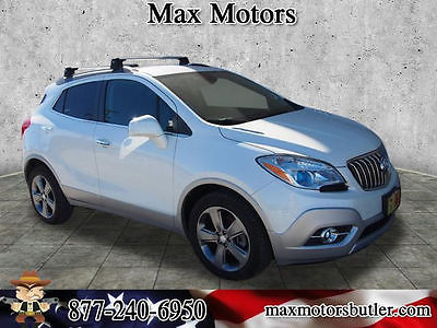 2013 Buick Encore Convenience 2013 Buick Encore Convenience 50754 Miles White Pearl Tricoat SUV 1.4L 4 cyls Au