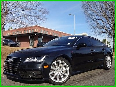 2014 Audi A7 ONE OWNER CLEAN CARFAX WE FINANCE TRADES WELCOME UPERCHARGED V6 SUNROOF BOSE SOUND NAVIGATION BACKUP CAMERA BT DUAL ZONE CLIMATE