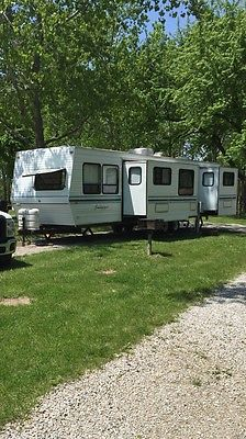 2000 Forest River 40 foot Travel Trailer