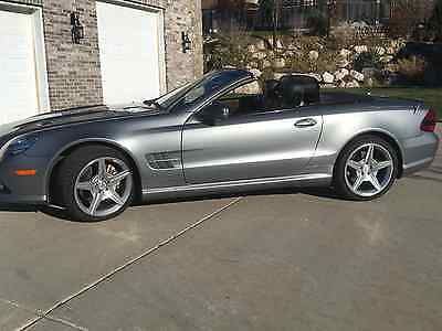 2009 Mercedes-Benz SL-Class SPORT AMG 2009 MB SL550 SPORT Premium 1 and AMG PACKAGES