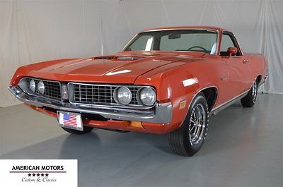 1971 Ford Other Pickups -- 1971 Ford Ranchero GT