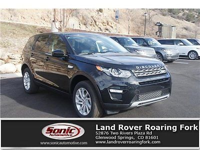 2016 Land Rover Discovery HSE 2016 Land Rover Discovery Sport HSE 7897 Miles Black Sport Utility Intercooled T