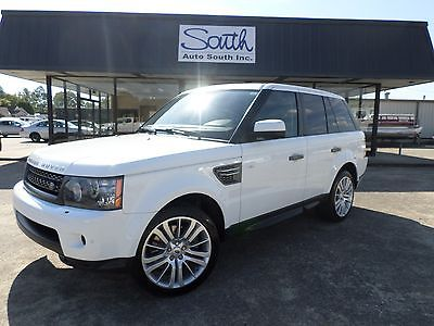 2011 Land Rover Range Rover Sport Luxury Package 2011 Range Rover Sport! Luxury Package! White/Brown! Clean Carfax!