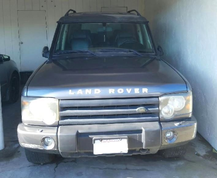 2003 Land Rover Discovery unspecified LAND ROVER DISCOVERY SE7 / 2003 SUV MEDIUM DARK GRAY COLOR - FOR REPAIR OR PARTS