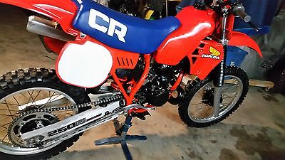1983 Honda CR  motorcycle off road