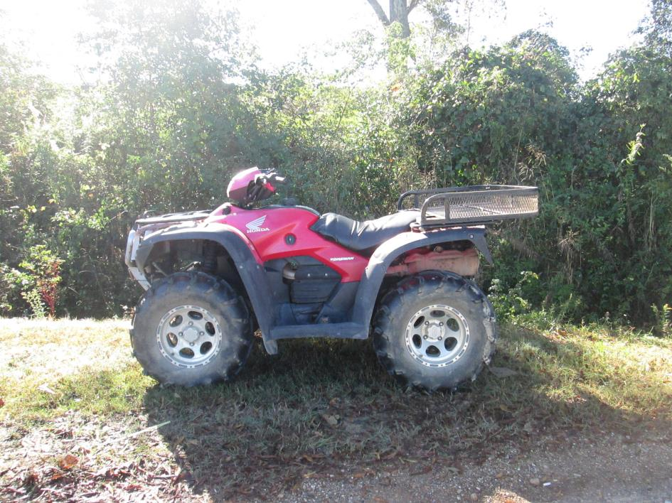 honda foreman 500 4x4 manual shift motorcycles for sale rh smartcycleguide com 2008 honda foreman 500 service manual 2008 honda foreman 500 service manual