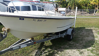 1988 MAKO 171 17 FOOT OPEN FISHERMAN WITH 2003 90HP YAMAHA