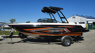 2016 LARSON 2100 LSR WAKEBOARD TOWER BOAT MERCURY 4.5 250 HP LOADED UP