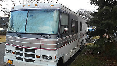 1990 FLEETWOOD FLAIR CLASS A RV  FORD E-350 58,387 MILES RUNS GREAT