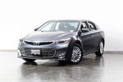 2015 Toyota Avalon Hybrid Limited 2015 Toyota Avalon Hybrid Limited 13567 Miles Gray 4D Sedan 2.5L 4-Cylinder Atki