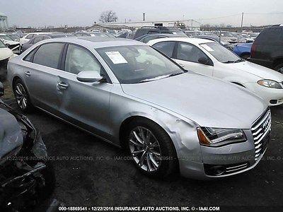 2012 Audi A8 2012 Audi A8L Quattro