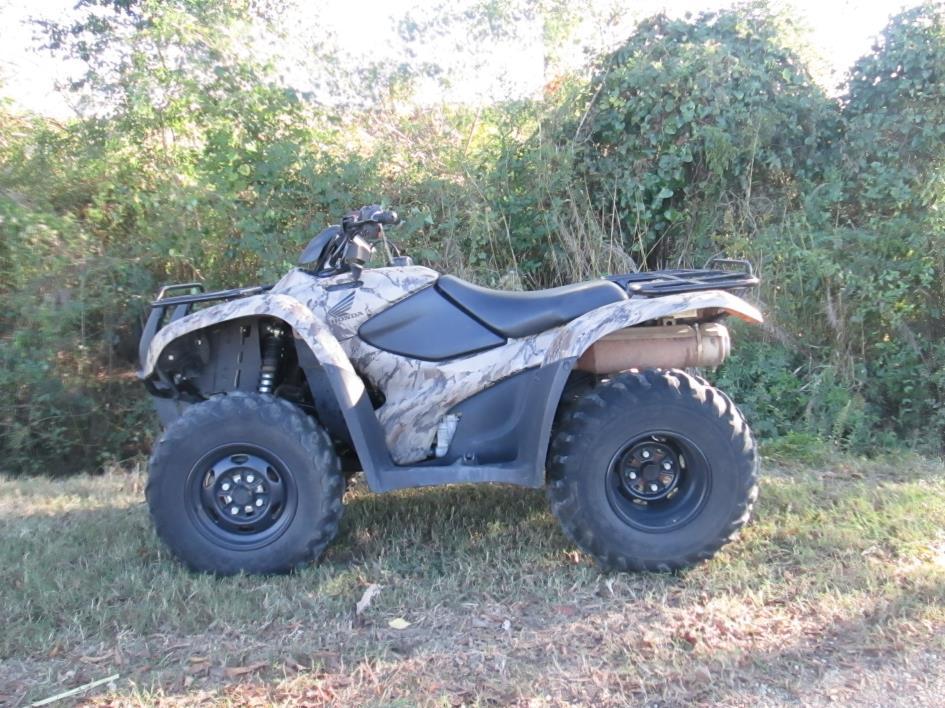 2007 Honda RANCHER 420 ES 4X4