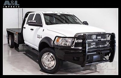 2014 Ram 5500HD 4X4 Tradesman 2014 Ram 5500HD 4X4 Tradesman 16670 Miles Bright White Clearcoat Pickup Truck 6.