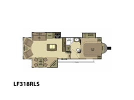 2013 Open Range Rv The Light LF318RLS