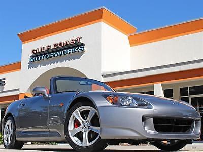 2008 Honda S2000 Base Convertible 2-Door 2008 Honda S2000 20k miles Gray w/ Red leather