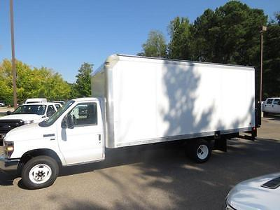 2016 Ford Econoline Commercial Cutaway  NEW 16 17' BOX TRUCK WITH POWER LIFT GATE DRW E450 176