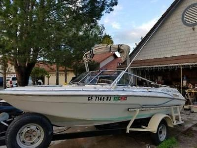 1992 Glastron 1700 Bow Rider Boat