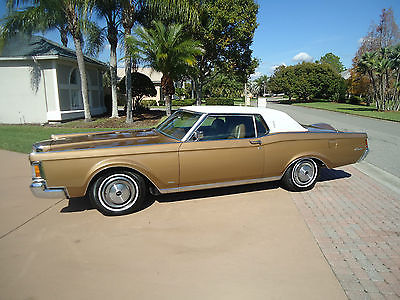 1971 Lincoln Mark Series  1971 LINCOLN  MARK III - 27,237 ACTUAL  MILES - GORGEOUS CAR - ALWAYS CARED FOR