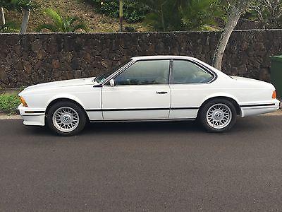 1988 BMW 6-Series 1988 BMW 635CSI 2 DOOR COUPE 70,000 Miles,Original Paint,New Natur Leather Seats