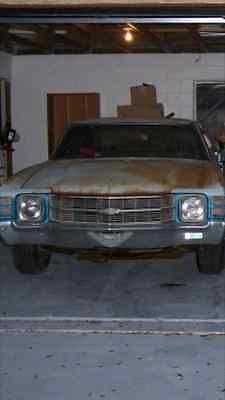 1971 Chevrolet Chevelle Malibu 1971 Chevrolet (Chevy) Chevelle project