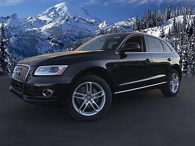 2013 Audi Q5 Premium Plus 2013 Audi Q5 Premium Plus 54991 Miles Black Sport Utility Turbocharged Gas I4 2.