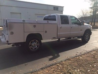 2014 Ford F-350 Platinum Ford F-350 Platinum Crew Cab Long Wheel Base Single Rear Wheel