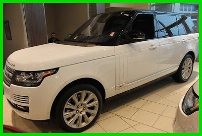2015 Land Rover Range Rover Supercharged LWB 2015 Supercharged LWB Used 5L V8 32V Automatic 4WD SUV Premium