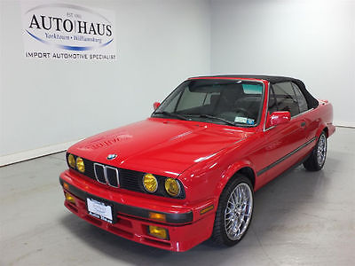 1988 BMW 325 Base Convertible 2-Door 1988 BMW 325i CONVERTIBLE - LOOKS/RUNS/DRIVES VERY GOOD! CLEAN CARFAX! NICE!