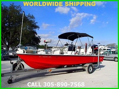 1996 HEWES REDFISHER 19! 107 HOURS! HYDRA JACK! TROLLING MOTOR! POWER-POLE!