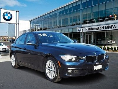 2016 BMW 3-Series 320i xDrive 2016 BMW 3 Series 320i xDrive 6,363 Miles Imperial Blue Metallic 4dr Car Interco